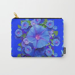 BLUE MORNING GLORIES DRAGONFLIES ART Carry-All Pouch