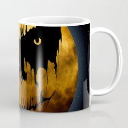 Halloween Creepy Moon Coffee Mug
