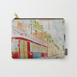 New Orléans Tramway Carry-All Pouch