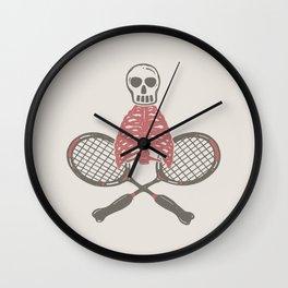 (BAD)MINTON Wall Clock