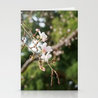 sakura Stationery Cards featuring sakura by artsimo