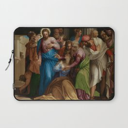 """Veronese (Paolo Caliari) """"The Conversion of Mary Magdalene"""" Laptop Sleeve"""