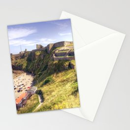 Tynemouth Castle Beach Stationery Cards