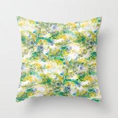 Canopy (green) Throw Pillow