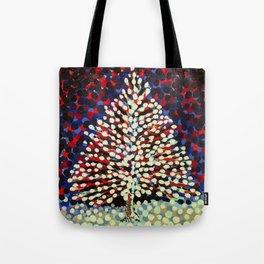 The Snow Tree Tote Bag