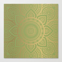 Gold Mandala 11 Canvas Print