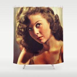 Susan Hayward, Hollywood Legend Shower Curtain