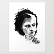 THE SPACEINVADERS 8# Art Print