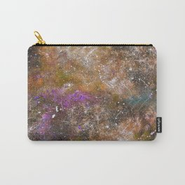 A galactic ocean -Orange- Cosmic Painting Art Carry-All Pouch