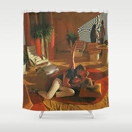 GOOD TRIP Shower Curtain