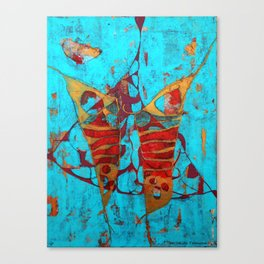 The Birth of the Butterfly Canvas Print