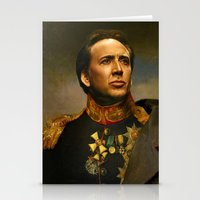 replaceface Stationery Cards featuring Nicolas Cage - replaceface by replaceface