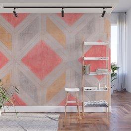 Boho Harlequin Pattern Wall Mural