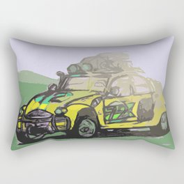 2CV (Yellow) Rectangular Pillow