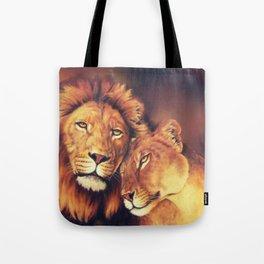 Lions Soulmates Tote Bag