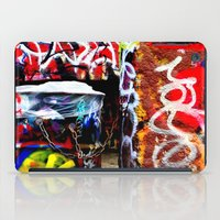 grafitti iPad Cases featuring Grafitti by Emily Dolenz Photography