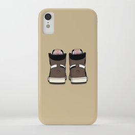 """Cactus Jack"" Heel Print 1 iPhone Case"