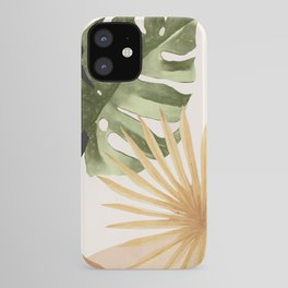 Abstract Art Tropical Leaves 22 iPhone Case