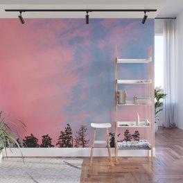 Hoh Sunset Wall Mural