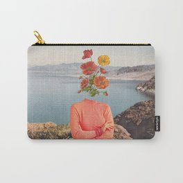 Pretty in peach Carry-All Pouch
