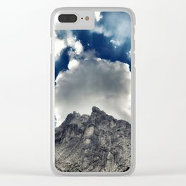 Austrian Alps Clear iPhone Case