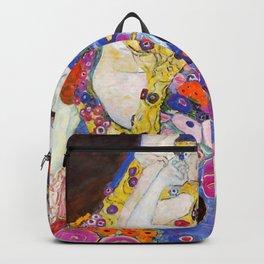 """Gustav Klimt """"Die Jungfrauen (The Virgins)"""" Backpack"""