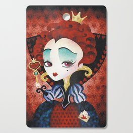 Queen of Hearts Cutting Board