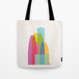 Shapes of Detroit Tote Bag