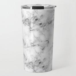 Real Marble Travel Mug