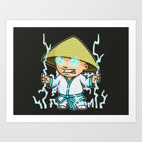 Little Lightning Art Print