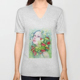 The Venus of Dreams Unisex V-Neck