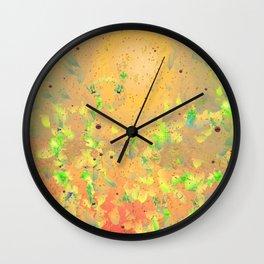 Fall 5 Wall Clock