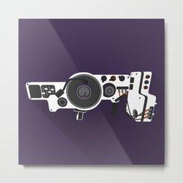 Dub Step Gun Metal Print