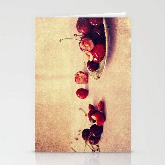 like cherries? Stationery Cards