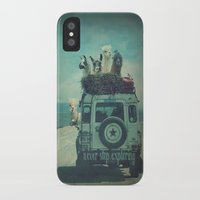 never stop exploring iPhone & iPod Cases featuring NEVER STOP EXPLORING II by Monika Strigel