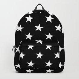 Little Stars (White & Black Pattern) Backpack