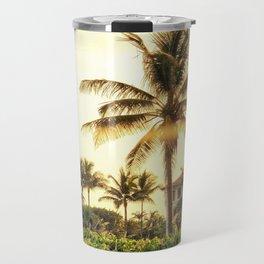 Palm Beach golden hour Travel Mug