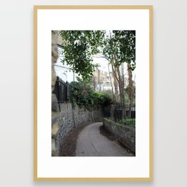 Down Regents Canal from Angel Framed Art Print