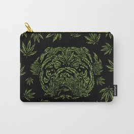 Marijuana of Pug Carry-All Pouch