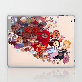 Goblin spiral Laptop & iPad Skin