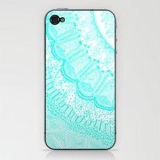 Doodle Madness AQUA iPhone & iPod Skin