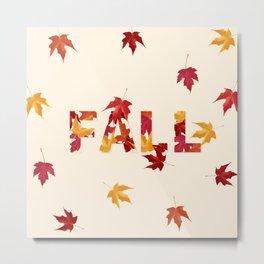 New England Fall Metal Print