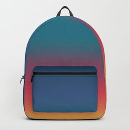 Hiroyoshi - Abstract Classic Design Color Gradient Backpack