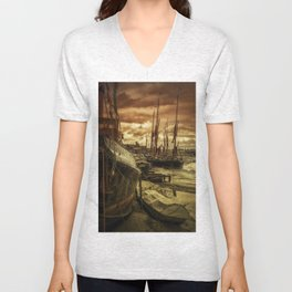 Ships from Essex Maldon Estuary Unisex V-Neck