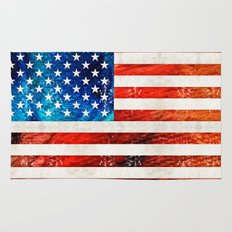American Flag Art - Old Glory - By Sharon Cummings Rug