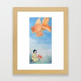 SkyFish Framed Art Print