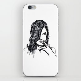 Girls don't cry iPhone Skin