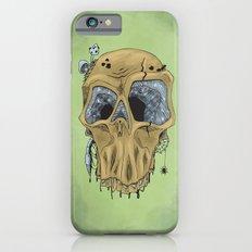 Weathered Skull Slim Case iPhone 6s