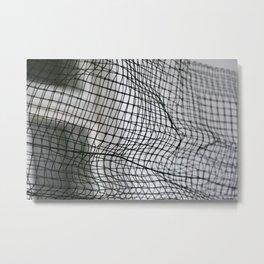 mesh Metal Print