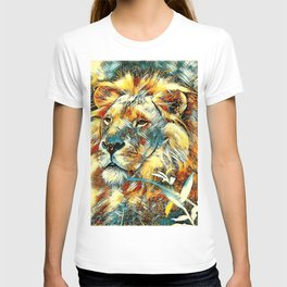 AnimalArt_Lion_20170605_by_JAMColors T-shirt